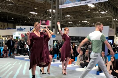 Optrafair shows on the catwalk